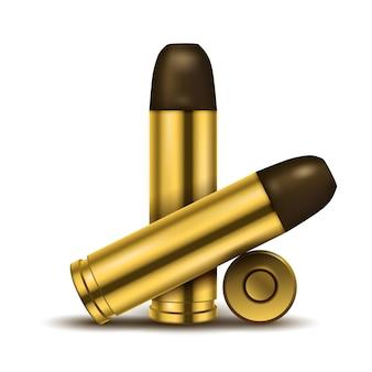 Realistische weergave van kogels
