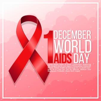 Realistische wereld aids-dag