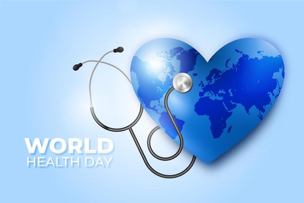 Realistische wereldgezondheidsdag