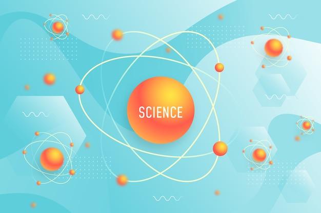 Realistische wetenschappelijke achtergrond