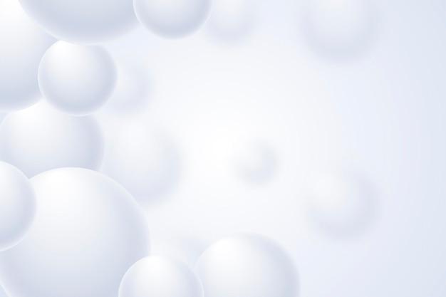 Realistische witte monochrome achtergrond