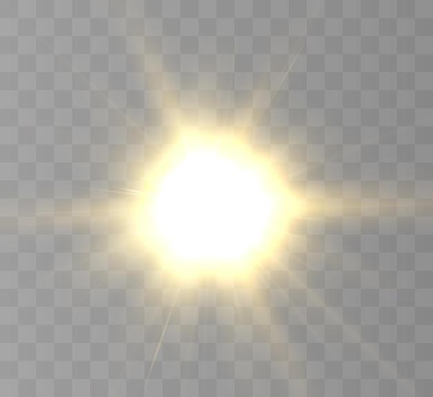 Realistische zon