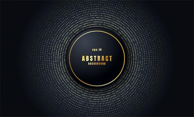 Realistische zwarte abstracte achtergrond