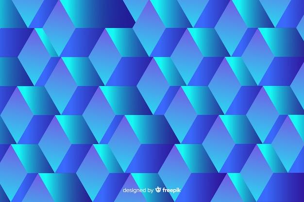 Realsitische kubussenachtergrond