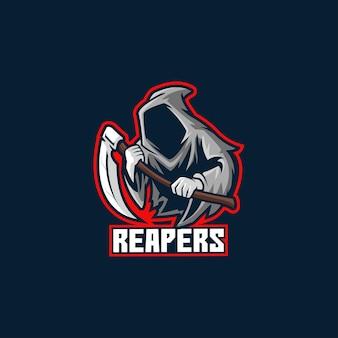 Reaper dood halloween schedel grimmig horror spook donker eng