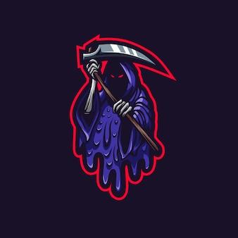 Reaper esport logo vuil stijl