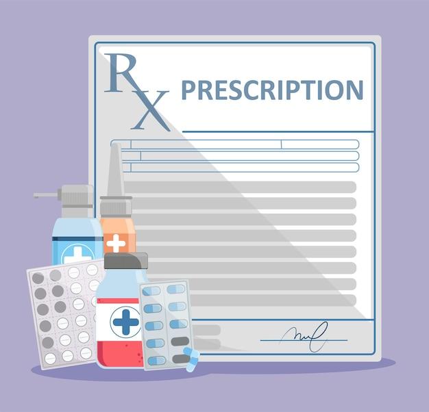 Recept voor medicijnen