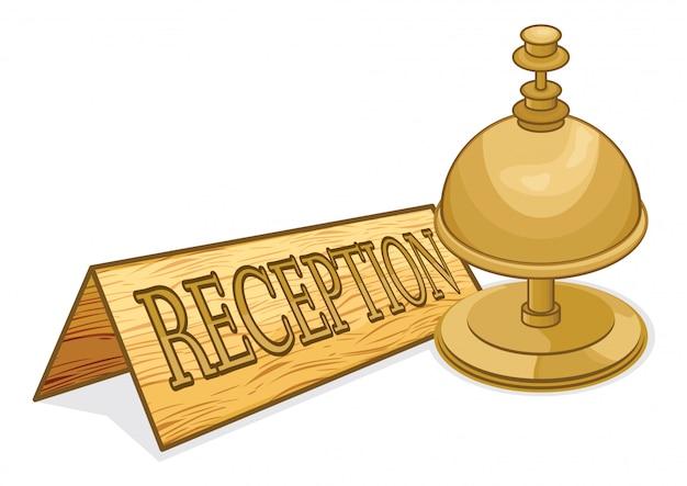 Receptie bell