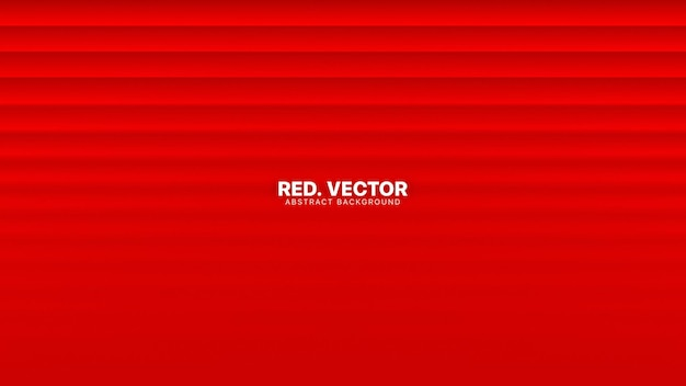 Rechte lijnen met wazig effect heldere rode abstracte achtergrond