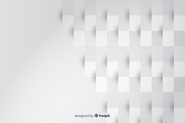 Rechthoek geometrische vormen van papier achtergrond