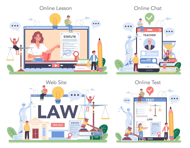 Rechtsklasse online service of platformset