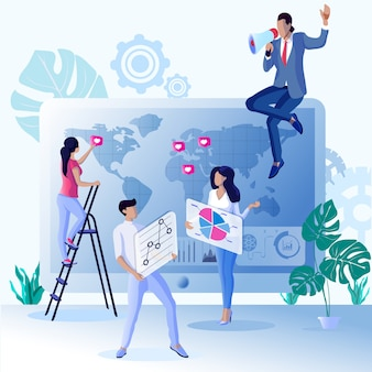 Reclame flyer bonussen en voordelen marketing