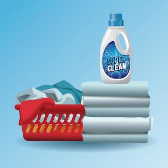 Reclame-product voor waszeep