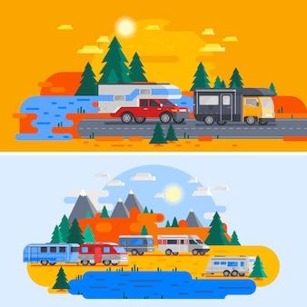 Recreatieve voertuigen samenstelling