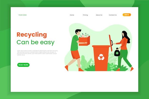 Recycle de bestemmingspagina voor zacht plastic afval