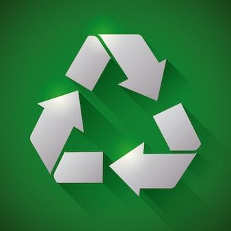 Recycle ontwerp.