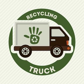 Recycling van transportontwerp