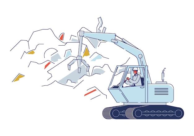Recyclinginstallatie voor oude gebroken metalen dingen.