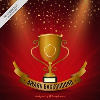 Red award achtergrond