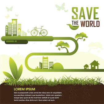 Red de wereld
