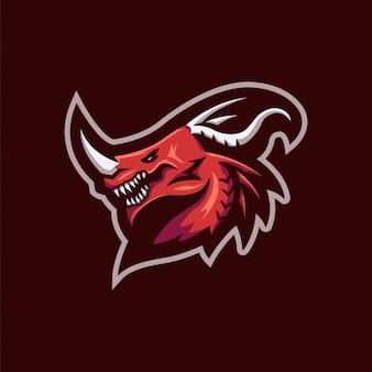 Red dragon-logo