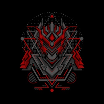 Red phantom project geometry style