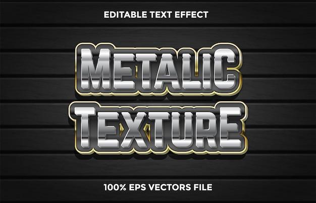 Redactionele teksteffect. staaleffect met koolstofachtergrond