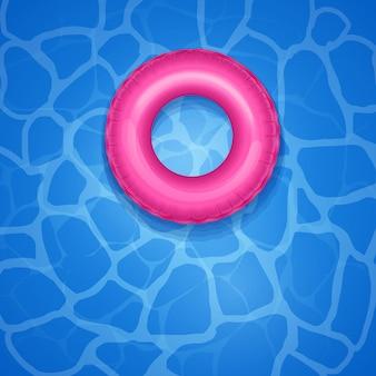 Reddingsboei in zwembad
