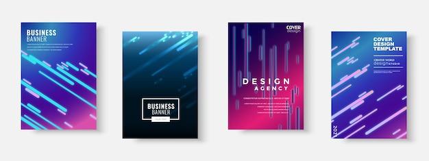 Reeks zakelijke brochures