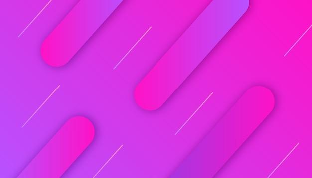 Regenboog 3d vloeibare vormen