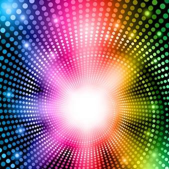 Regenboog abstracte lichten