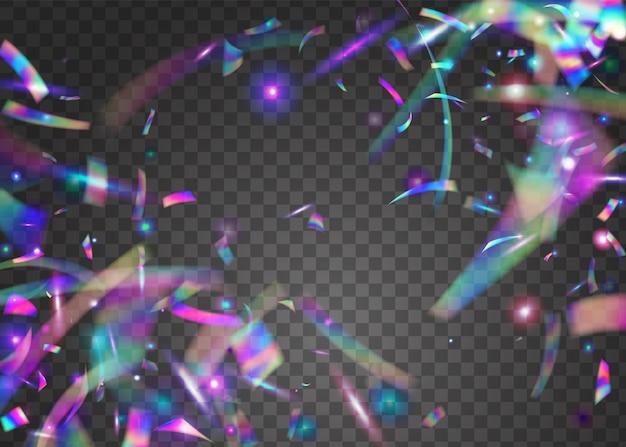Regenboog textuur. holografische confetti-achtergrond.