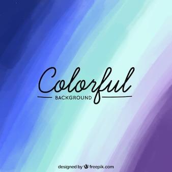 Regenboogachtergrond met vele kleuren