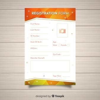 Registratieformulier