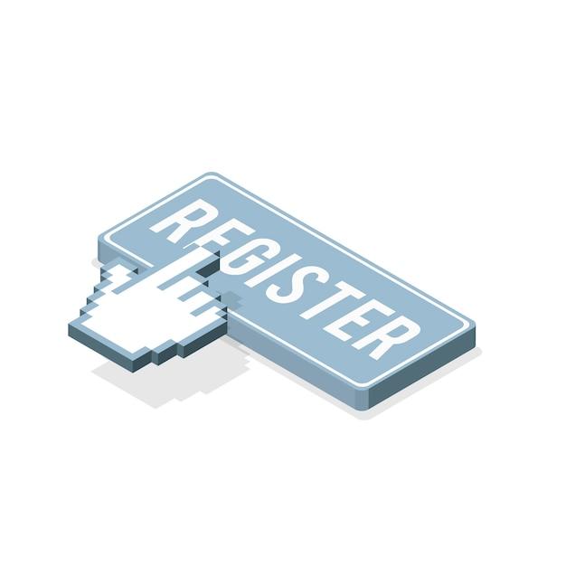 Registreer knop