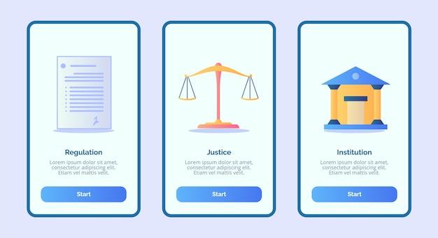 Regulering justitiële instelling