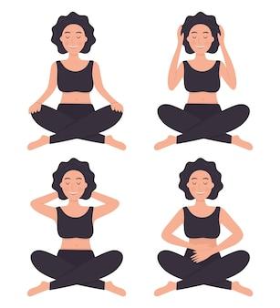 Reiki therapie concept