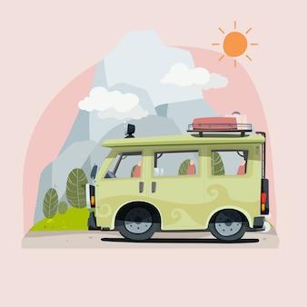 Reis in vakantietijd