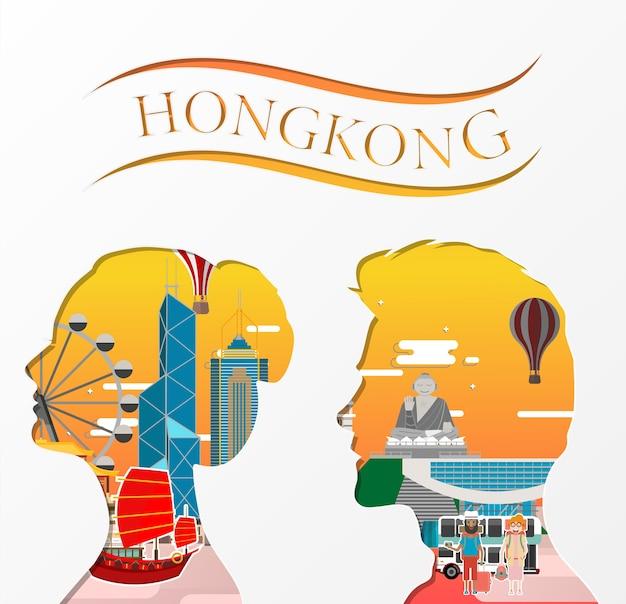 Reis naar hongkong.