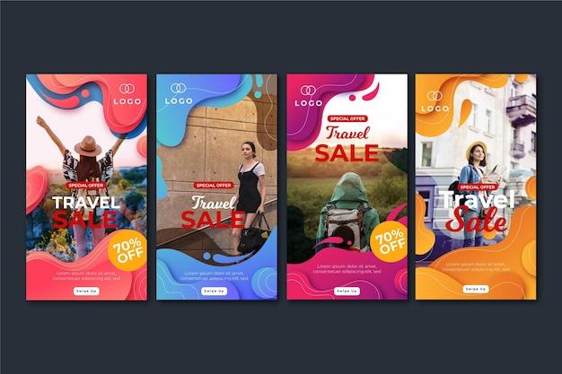 Reis verkoop instagram verhalen