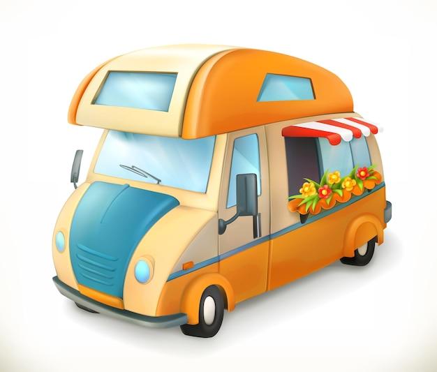 Reisaanhangwagen 3d