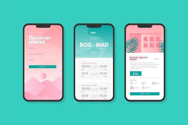 Reisboekings-app