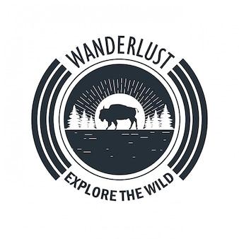 Reislust avontuur logo