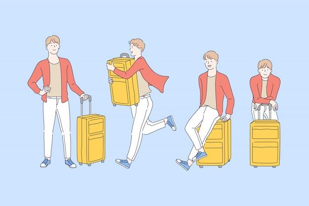 Reizen, avontuur, toerisme.