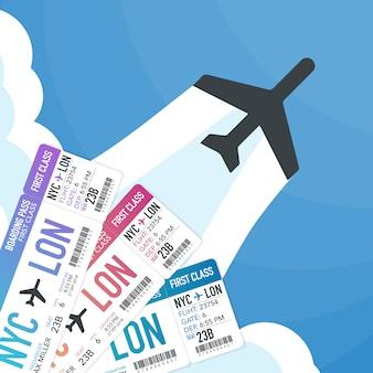 Reizen en toerisme online tickets kopen of boeken. reizen, zakelijke vluchten wereldwijd.