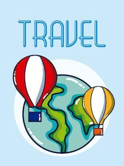 Reizen en vakanties over de hele wereld