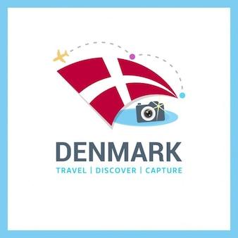 Reizen naar denemarken logo