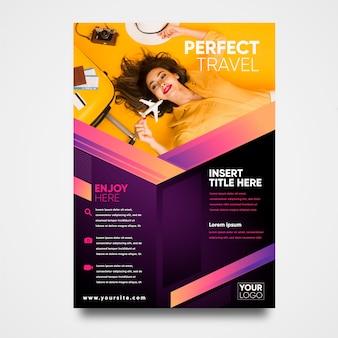 Reizen poster concept