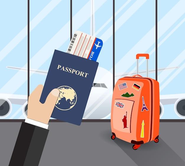 Reizen, zakenreis concept.
