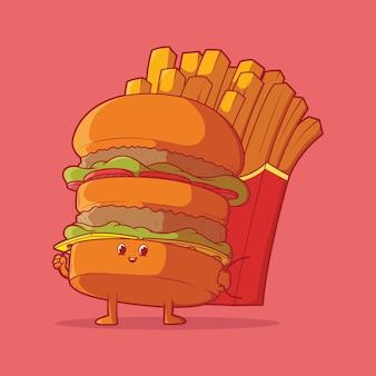 Reizende hamburger